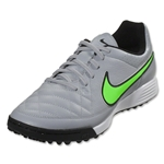 Nike Tiempo Genio Leather TF (Wolf Gray/Green Strike)