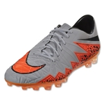 Nike Hypervenom Phatal II AG-R (Gray/Total Orange)