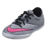 Nike Mercurial Pro IC Junior (Wolf Grey/Hyper Pink/White/Black)