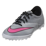 Nike Mercurial Pro TF Junior (Wolf Grey/Hyper Pink/White/Black)