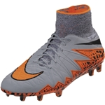 Nike Hypervenom Phantom II FG (Gray/Total Orange)