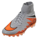 Nike Hypervenom Phatal II AG (Gray/Total Orange)