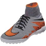 Nike Hypervenom Finale TF Junior (Wolf Grey/Total Orange)