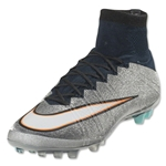 Nike Mercurial Superfly CR AG (Metallic Silver)