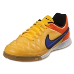 Nike Junior Tiempo Genio Leather IC (Laser Orange/Persian Violet)