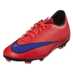 Nike Junior Mercurial Victory V FG (Bright Crimson/Persian Violet)
