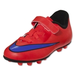 Nike Junior Mercurial Vortex 2 FG R (Bright Crimson/Persian Violet)