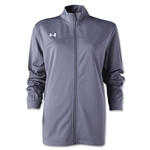 Under Armour Women's Futbolista Jacket (Gray)