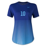 Nike Women's Dri Blend Graphic T-Shirt (Royal)