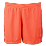 Nike Women's Academy Mesh Short (Orange)