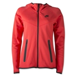 Nike Tech Fleece FZ Hoody (Red)