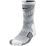 Nike Elite Match Fit Soccer Crew Sock (Wh/Bk)