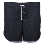 Nike Women's 7 Mesh Girls Short (Black)
