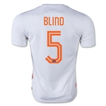 Netherlands 2015 BLIND Away Soccer Jersey