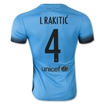 Barcelona 15/16 I. RAKITIC Authentic Third Soccer Jersey