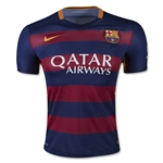 Barcelona 15/16 Authentic Home Soccer Jersey