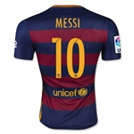 Barcelona 15/16 MESSI Authentic Home Soccer Jersey