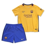 Barcelona 15/16 Little Boys Away Kit