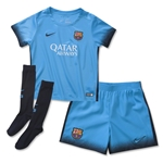 Barcelona 15/16 Little Boys Third Soccer Kit