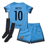 Barcelona 15/16 MESSI Little Boys Third Soccer Kit