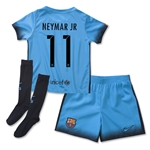 Barcelona 15/16 NEYMAR JR Little Boys Third Soccer Kit