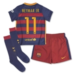 Barcelona 15/16 NEYMAR JR Little Boys Home Kit