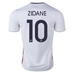 France 2015 ZIDANE Away Soccer Jersey