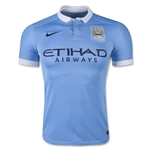 Manchester City 15/16 Authentic Home Soccer Jersey