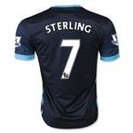 Manchester City 15/16 STERLING Away Soccer Jersey