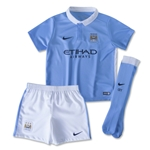 Manchester City 15/16 Little Boy's Home Kit