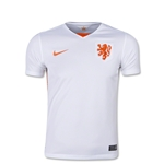 Netherlands 2015 Youth Away Soccer Jersey