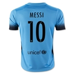 Barcelona 15/16 MESSI Youth Third Soccer Jersey