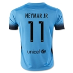 Barcelona 15/16 NEYMAR JR Youth Third Soccer Jersey