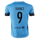 Barcelona 15/16 SUAREZ Youth Third Soccer Jersey