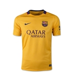 Barcelona 15/16 Youth Away Soccer Jersey