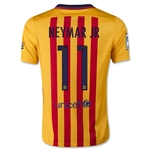 Barcelona 15/16 NEYMAR JR Youth Away Soccer Jersey
