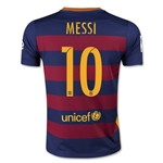 Barcelona 15/16 MESSI Youth Home Soccer Jersey