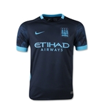 Manchester City 15/16 Youth Away Soccer Jersey