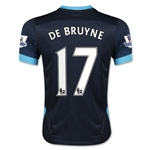 Manchester City 15/16 DE BRUYNE Youth Away Soccer Jersey