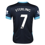 Manchester City 15/16 STERLING Youth Away Soccer Jersey