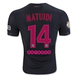 Paris Saint-Germain 15/16 MATUIDI Authentic Third Soccer Jersey