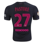 Paris Saint-Germain 15/16 PASTORE Authentic Third Soccer Jersey