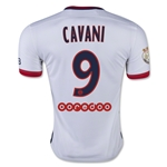 Paris Saint-Germain 15/16 CAVANI Away Soccer Jersey