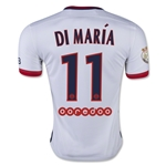 Paris Saint-Germain 15/16 DI MARIA Away Soccer Jersey