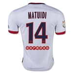 Paris Saint Germain 15/16 MATUIDI Away Soccer Jersey