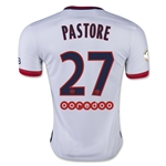 Paris Saint Germain 15/16 PASTORE Away Soccer Jersey