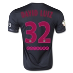 Paris Saint-Germain 15/16 DAVID LUIZ Third Soccer Jersey
