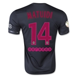 Paris Saint-Germain 15/16 MATUIDI Third Soccer Jersey
