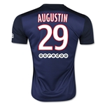 Paris Saint-Germain 15/16 AUGUSTIN Home Soccer Jersey