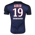 Paris Saint-Germain 15/16 AURIER Home Soccer Jersey